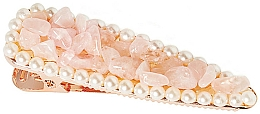 Kup Spinka do włosów Różowy kwarc - Crystallove Rose Quartz Hair Clip