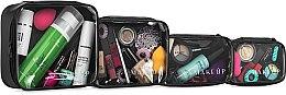 Kup Zestaw kosmetyczek Professional Set (4 x 9 x 5 cm, 17,5 x 9,5 x 6 cm, 19 x 14 x 7 cm, 19,5 x 17,5 x 8 cm, bez zawartości) - Makeup
