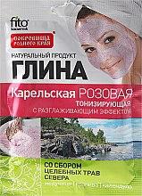 Kup Karelska tonizująca glinka różowa wygładzająca skórę - FitoKosmetik