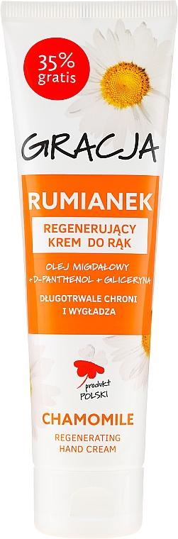 Regenerujący krem do rąk Rumianek - Gracja