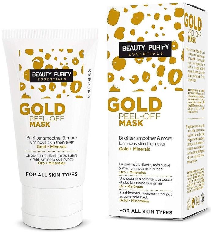 Maska peel-off do twarzy - Diet Esthetic Beauty Purify Gold Peel-Off Mask — фото N1