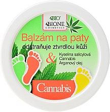 Kup Balsam do stóp z olejem konopnym - Bione Cosmetics Cannabis Heel Balm Removes Hard Skin