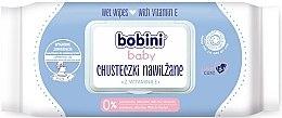 Kup Chusteczki nawilżające z witaminą E dla niemowląt - Bobini