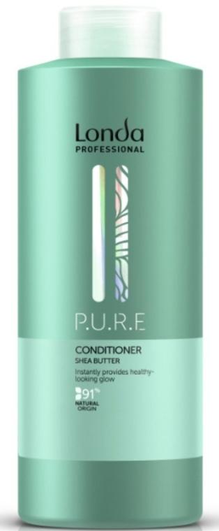 Odżywka do włosów z masłem shea - Londa Professional P.U.R.E Conditioner Shea Butter — фото N2