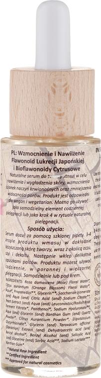 Hipoalergiczne serum do skóry odwodnionej, wrażliwej i naczynkowej - Shy Deer — фото N2
