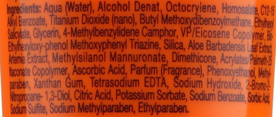 Ochronny krem do twarzy z filtrem SPF 50 - Babaria Sport Sunscreen Cream Spf 50 — фото N3