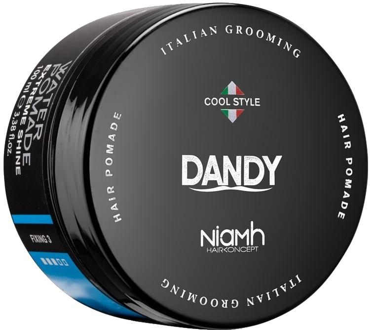 Modelująca pomada do włosów i brody dla mężczyzn - Niamh Hairconcept Dandy Extreme Shine Water Pomade — фото N1