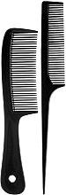 Kup Grzebienie do włosów 60397, czarne - Top Choice