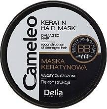 Kup Keratynowa maska do włosów zniszczonych - Delia Cameleo Mask
