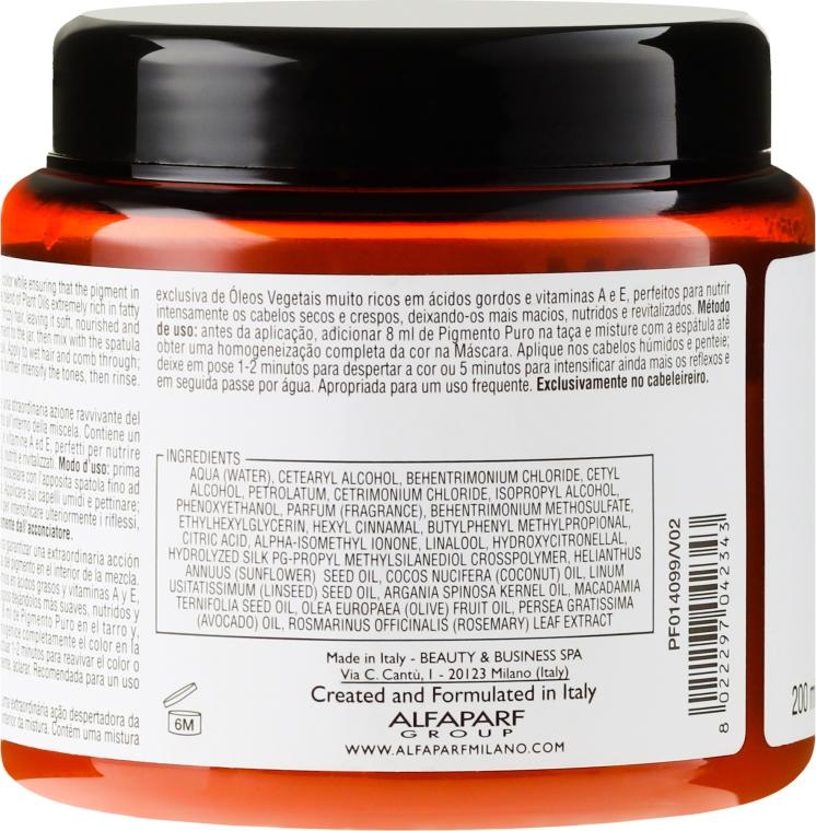 Odżywcza maska do włosów suchych - Alfaparf Pigments Nutritive Mask — фото N2