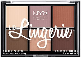 Kup Paletka cieni do powiek - NYX Professional Makeup Lid Lingerie Shadow Palette