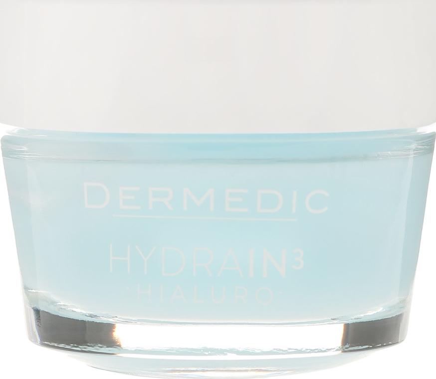 Ultranawilżający krem-żel do twarzy - Dermedic Hydrain3 Hialuro — фото N2