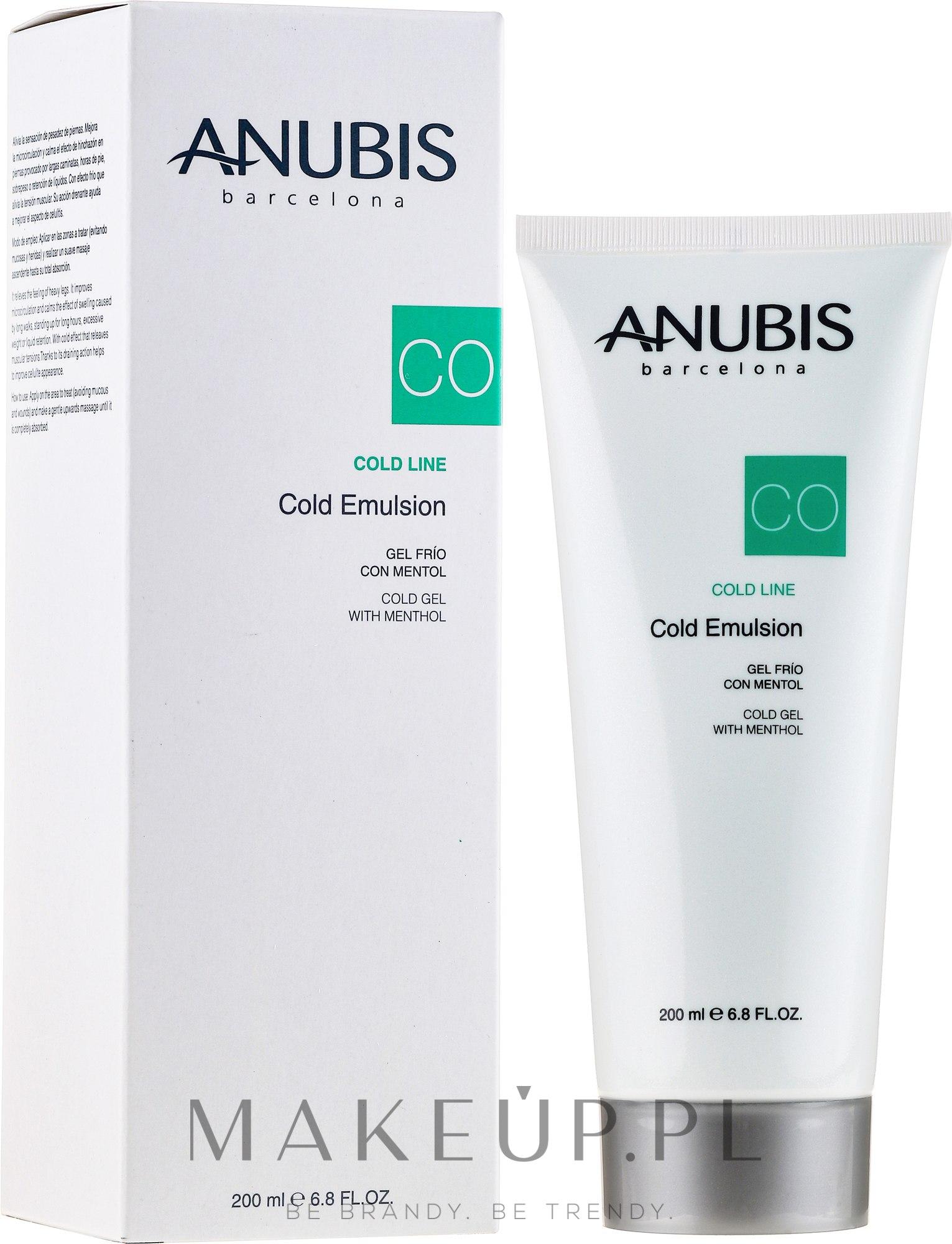 Chłodząca emulsja do stóp - Anubis Cold Line Emulsion — фото 200 ml