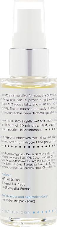 Odżywczy olejek do włosów - Halier Oiltense — фото N3