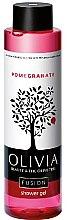 Kup Żel pod prysznic Granat - Olivia Beauty & The Olive Tree Fusion Shower Gel Pomegranate