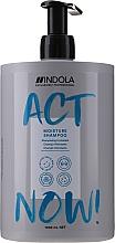 Kup Nawilżający szampon do włosów suchych - Indola Act Now! Moisture Shampoo