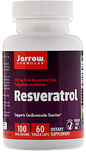 Kup PRZECENA! Suplement diety Resweratrol - Jarrow Formulas Resveratrol, 100 mg *