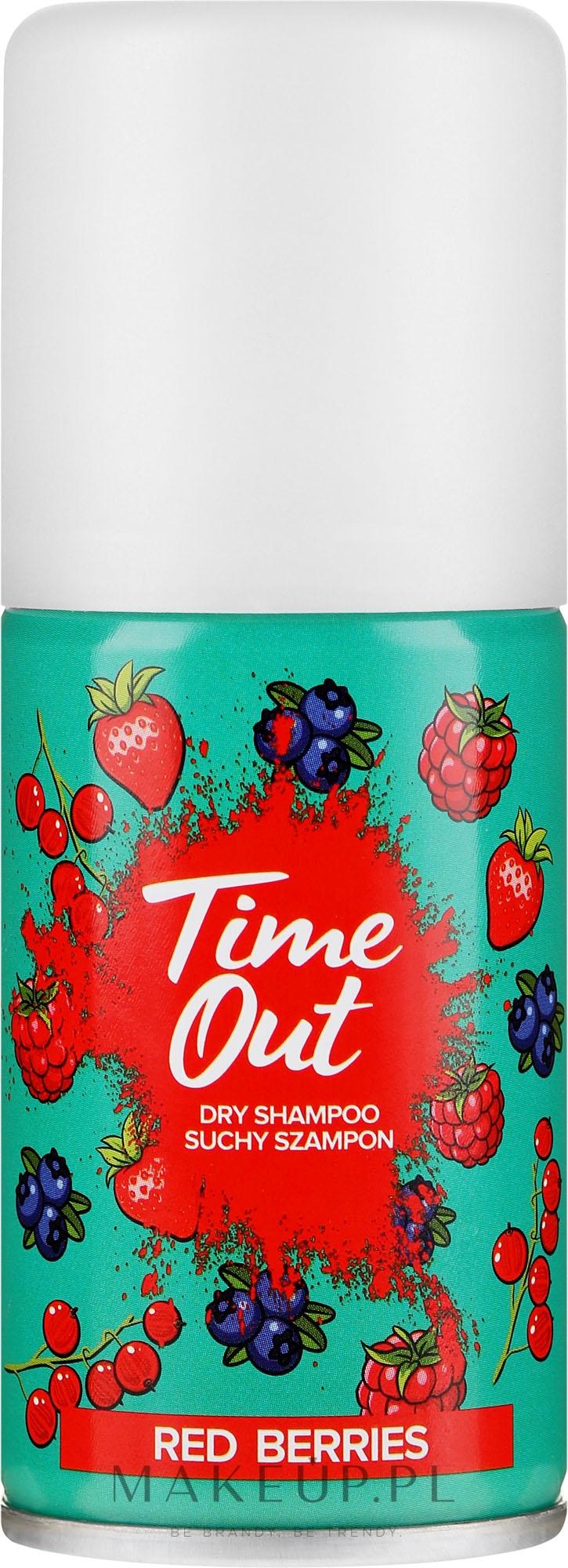 Suchy szampon do włosów Czerwone jagody - Time Out Red Berries — фото 75 ml