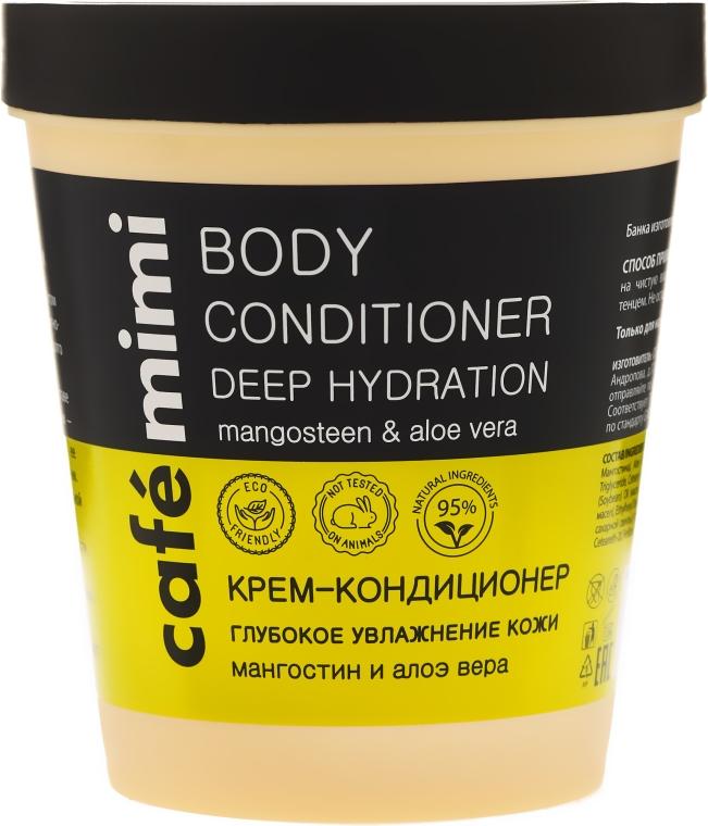 Głęboko nawilżający krem-odżywka do ciała Mangostan i aloes - Café Mimi Deep Hydration Body Conditioner