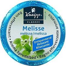 Kup Musująca tabletka do kąpieli Melisa - Kneipp Aroma Sprudelbad Melisse