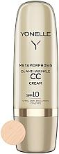 Kup Przeciwzmarszczkowy krem CC SPF 10 - Yonelle Metamorphosis D3 Anti Wrinkle CC Cream