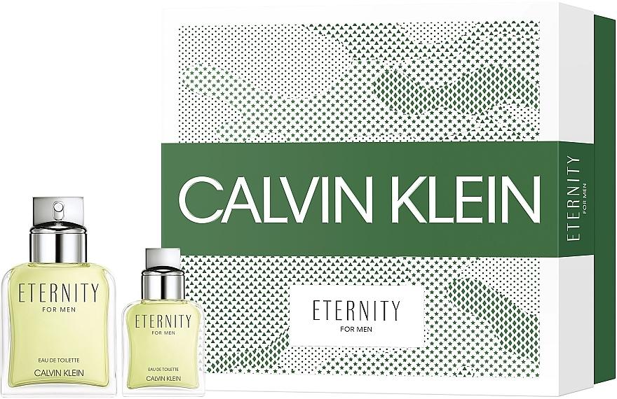 Calvin Klein Eternity For Men - Zestaw (edt 100 ml + edt 30 ml) — фото N1