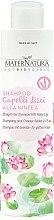 Kup Szampon do prostych włosów z lilią wodną - MaterNatura Water Lily Shampoo