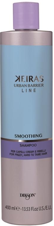 Wygładzający szampon do włosów nieposłusznych - Dikson Kerais Smoothing Shampoo — фото N3