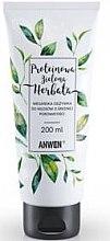 Kup Wegańska odżywka do włosów o średniej porowatości Proteinowa zielona herbata - Anwen