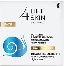 Kup Totalnie regenerująco-nawilżający krem na noc - Lift4Skin Snail C+ Active