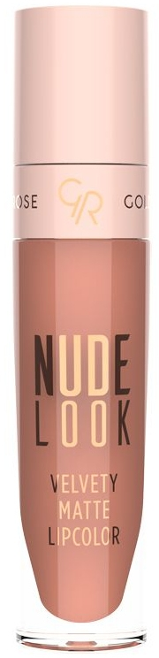 Matowa szminka do ust - Golden Rose Nude Look Velvety Matte Lipcolor
