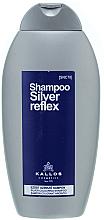 Kup PRZECENA! Szampon do włosów siwych i rozjaśnianych - Kallos Cosmetics Silver Reflex Shampoo *