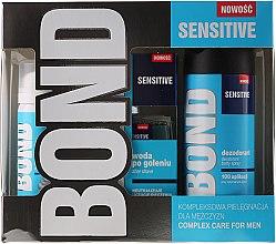 Kup Zestaw - Bond Expert Sensitve (deo/150ml + lotion/100ml + foam/50ml)