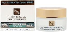 Kup Przeciwzmarszczkowy krem do skóry wokół oczu - Health And Beauty Anti-Wrinkle Eye Cream SPF 20