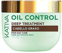 Kup Maska do włosów tłustych - Kativa Oil Control Deep Treatment