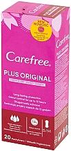 Kup PRZECENA! Wkładki higieniczne, 20 szt. - Carefree Plus Original Fresh Scent Pantyliners *
