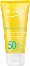 Kup Przeciwsłoneczny krem matujący do twarzy SPF 50 - Biotherm Sun Protection Crème Solaire Dry Touch