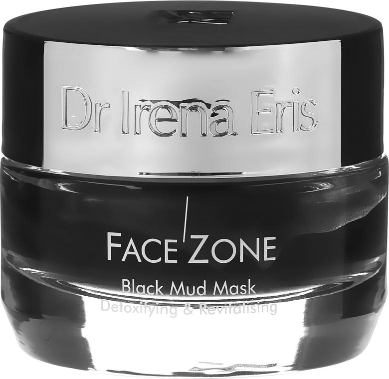 Detoksykująco-rewitalizująca czarna błotna maska do twarzy - Dr Irena Eris Face Zone Black Mud Mask Detoxifying & Revitalising — фото N2