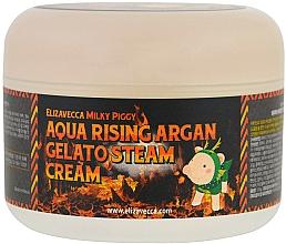 Kup Krem nawilżający - Elizavecca Face Care Aqua Rising Argan Gelato Steam Cream