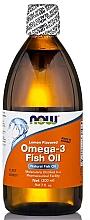 Kup Olej rybny Omega-3 o smaku cytrynowym - Now Foods Omega-3 Fish Oil Lemon Flavored