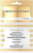 Kup Luksusowa rozświetlająco-liftingująca maseczka do twarzy z 24k złotem - Christian Laurent Luxury Illuminating And Lifting 24K Gold Face Mask