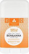 Kup Dezodorant w sztyfcie na bazie sody Wanilia i orchidea - Ben & Anna Natural Soda Deodorant Vanilla Orchid