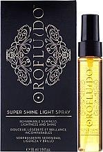 Kup Nabłyszczacz w sprayu do włosów - Orofluido Super Shine Light Spray