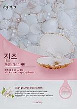 Kup Maska w płachcie do twarzy z ekstraktem z pereł - Esfolio Pearl Essence Mask Sheet