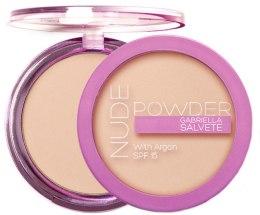 Kup Puder do twarzy z olejem arganowym - Gabriella Salvete Nude Powder With Argan SPF 15