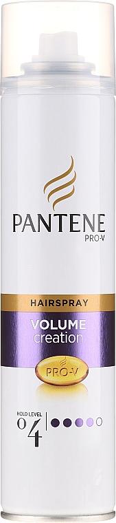 Lakier do włosów cienkich Elastyczna objętość - Pantene Pro-V Volume Creation Hairspray