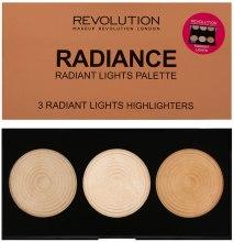 Kup Paletka rozświetlaczy do twarzy - Makeup Revolution Highlighter Palette
