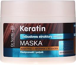 Kup Maska do włosów matowych i łamliwych - Dr. Santé Keratin Mask