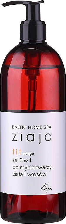 Żel myjący 3 w 1 - Ziaja Baltic Home Spa Gel Mango