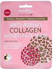 Kup Przeciwstarzeniowa maseczka w płachcie - Derma V10 Woven Face Mask Anti Ageing Collagen
